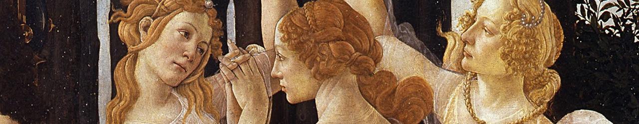 Le tre grazie del Botticelli
